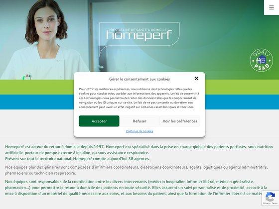 Les offres d'emploi Homeperf pour les infirmiers