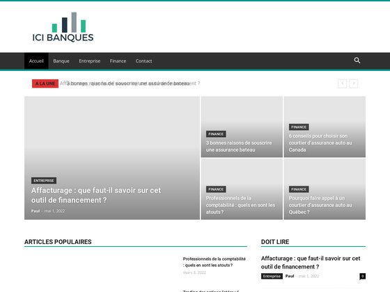 ICI Banques - Comparateur d'offres bancaires