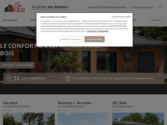 Constructeur maisons bois