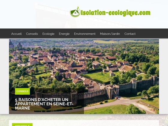 Vente de matériaux isolants : isolation thermique et acoustique