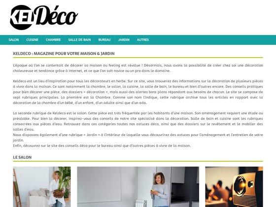 Keldeco - premier réseau dédié à la décoration