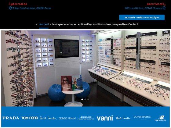 Opticien Krys Arras, lunettes de vue, solaires, lentilles co