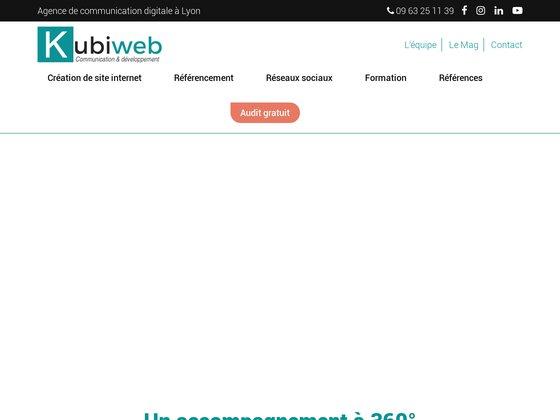 Kubiweb référencement webdesign