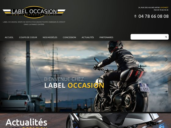 Moto scooter label occasion