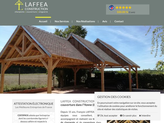 Charpente Toiture Lafféa Construction