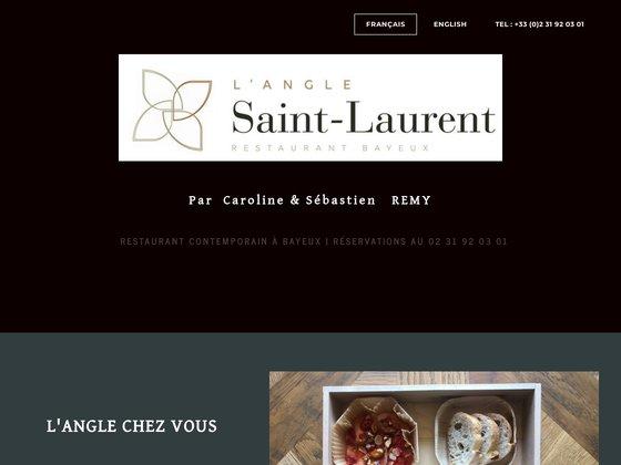 Restaurant Bayeux L'angle Saint Laurent 14400 Calvados