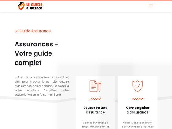le guide de l'assurance en France