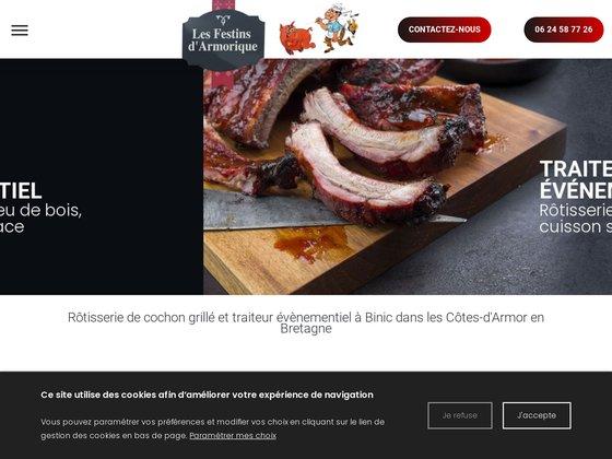 Rôtisserie et cochon grillé dans les Côtes-d'Armor