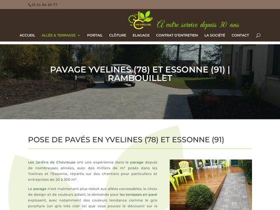 Pavage Yvelines 78 et Essonne 91