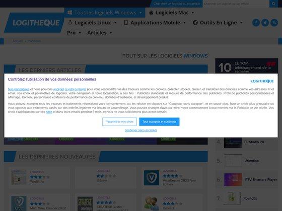 Logithèque : le meilleur site de téléchargement