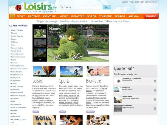 Le Guide des Loisirs du Sport et du Tourisme en France