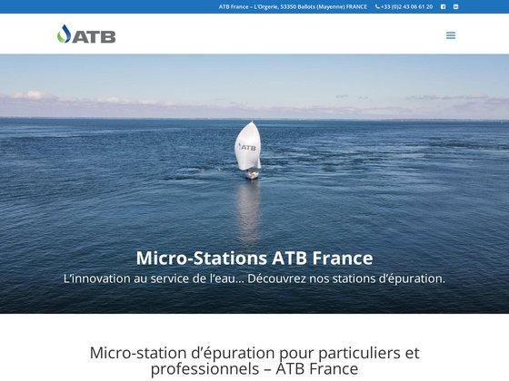ATB FRANCE: micro-station d'épuration pour particuliers et professionnels
