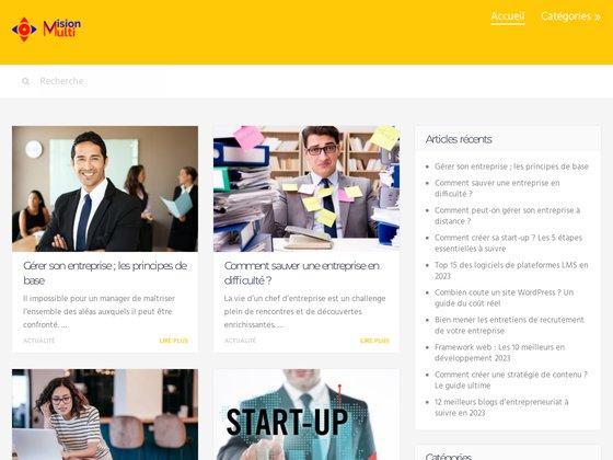 Création de site web en Tunisie