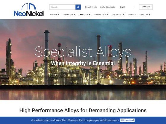 ROLLED ALLOYS Fournisseur d'alliages de métaux spéciaux