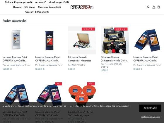 Neronero - Capsules Lavazza, livraison gratuite