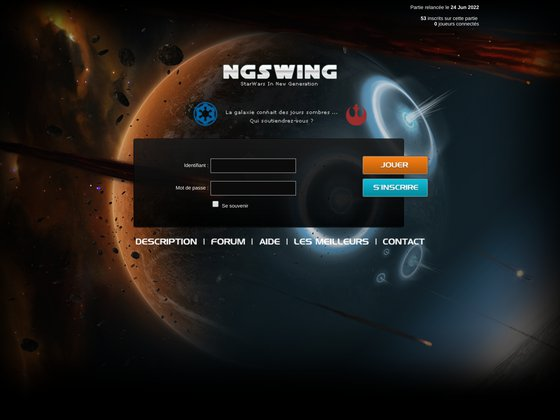 SWING - Jeu Gratuit Online de Stratégie dans l'univers de Star Wars