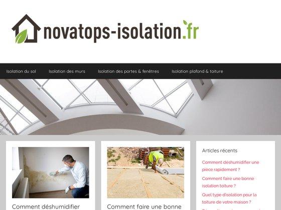 Novatop's isolation - isolation naturelle