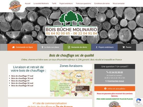Bois de chauffage ile-de-france