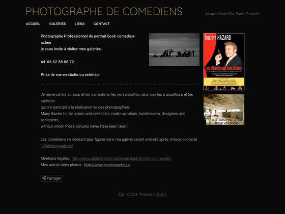 Photographe de comedien, acteur, figurant