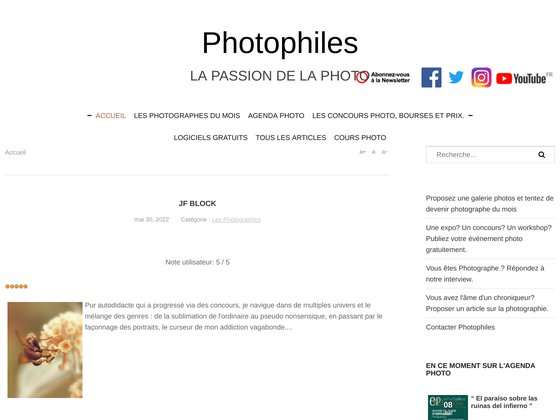 Photographie - Photo sur Photophiles : magazine photo numérique