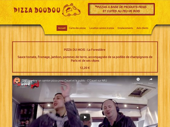 Pizza Doudou  - Camion de Pizza