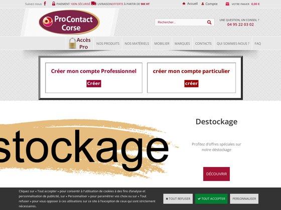 www.procontactcorse.fr