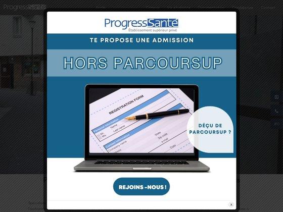 Concours paramédicaux - progress santé