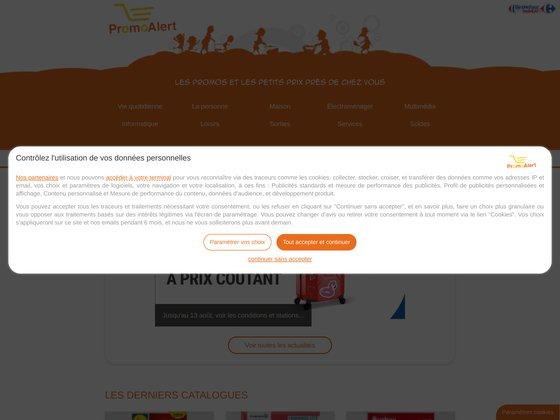 Promoalert.com: les promotions et les petits prix des magasins près d