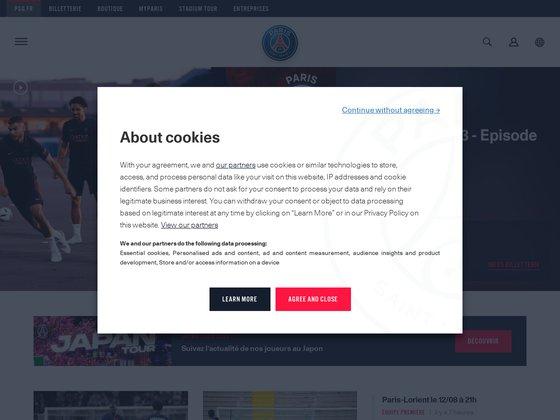 Site officiel du PSG