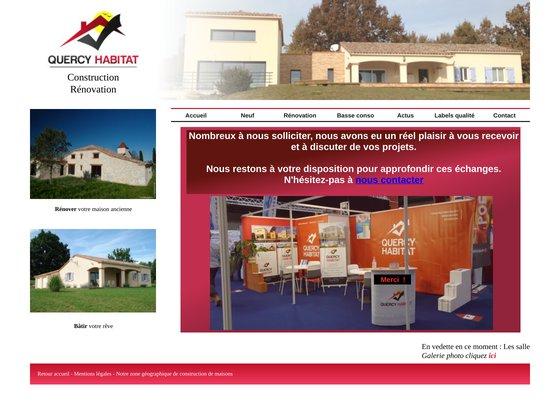 Entreprise Générale du Bâtiment, Quercy Habitat à Caussade