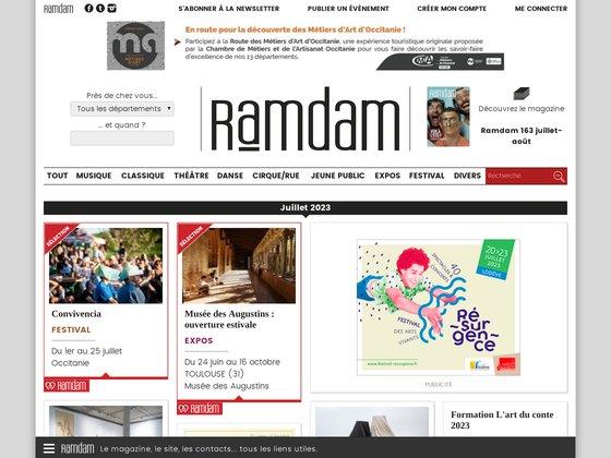 Ramdam, culture, société, art de vivre en Midi-Pyrénées
