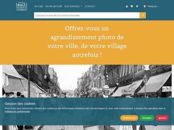 Retro Photo - La banque de cartes postales anciennes