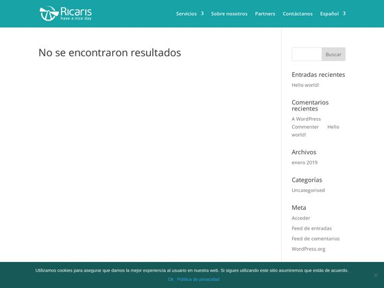 Ricaris - Services Externalisation