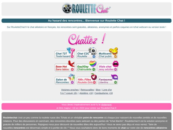 Chatroulette N�1 France