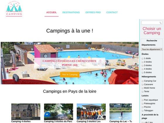 Sélection camping : Plateformes pour campings