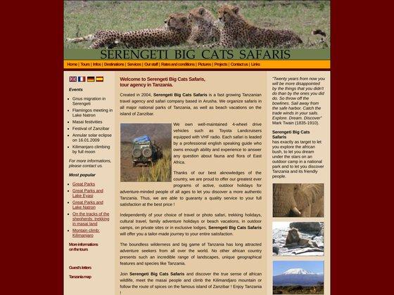 Agence de voyages à Arusha (Tanzanie)