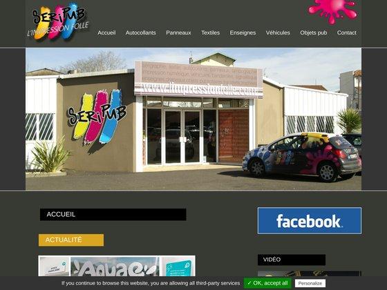 Seripub : Sérigraphie et tampographie à Dax (Landes)