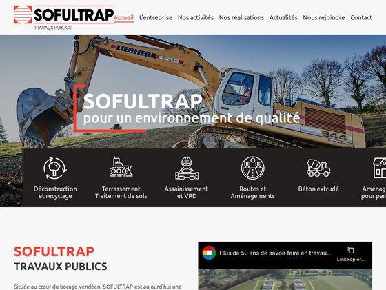 Sofultrap constructeur de route en Vendée.