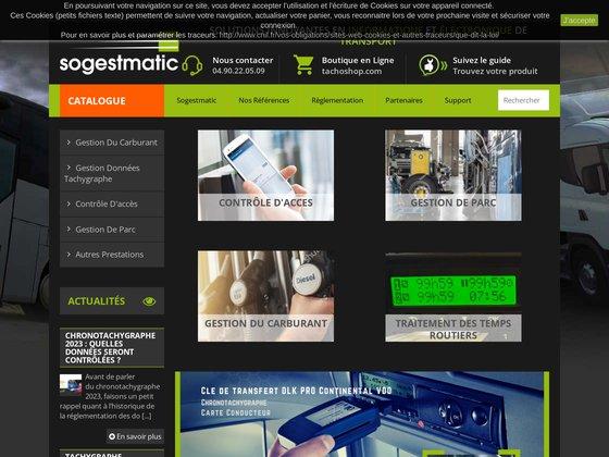 Sogestmatic - société spécialisée en solutions transport !