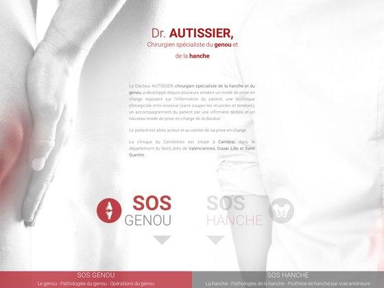 Rupture de ligament croisé ? docteur autissier