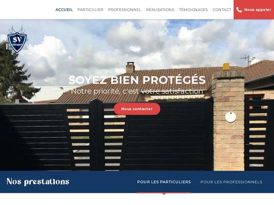 Entreprise de vente et pose de clôtures / portails - Lille (59)