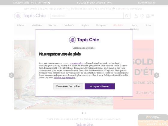 Tapis Chic : spécialiste du tapis contemporain et tapis design