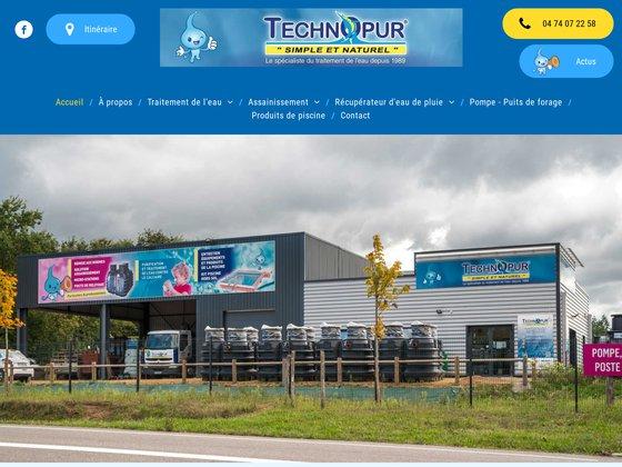 Technopur : traitement naturel de l'eau domestique