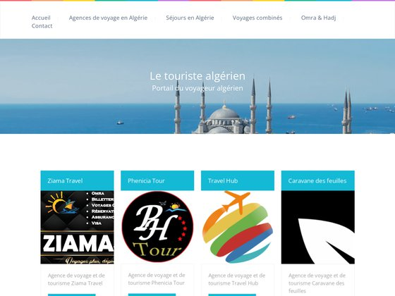 Agence de voyage en Algérie
