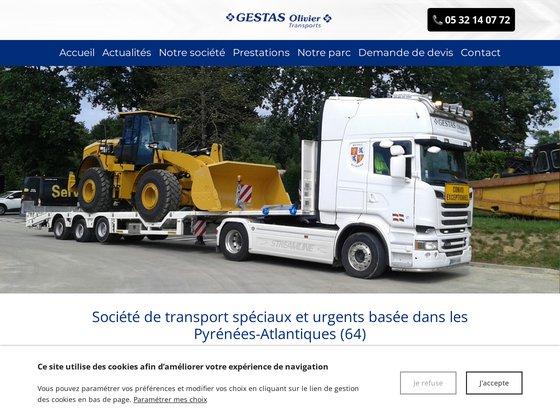 Transport de panneaux béton à Bayonne