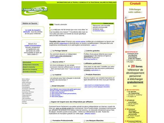 Travail-a-domicile.net
