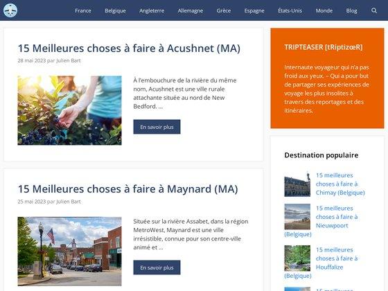Tripteaser.fr, le guide de voyage qui déshabille la planète