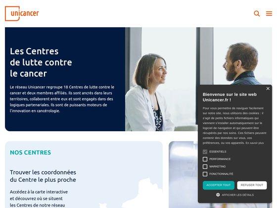 UNICANCER, le Groupe des Centres de lutte contre le cancer