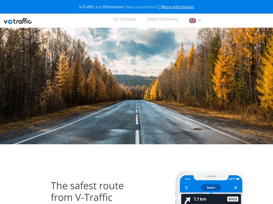 Consultez votre trafic info depuis V-traffic