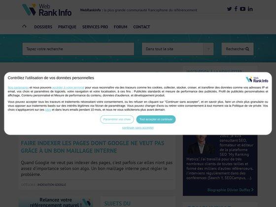 Web Rank Info, spécialiste du référencement Google
